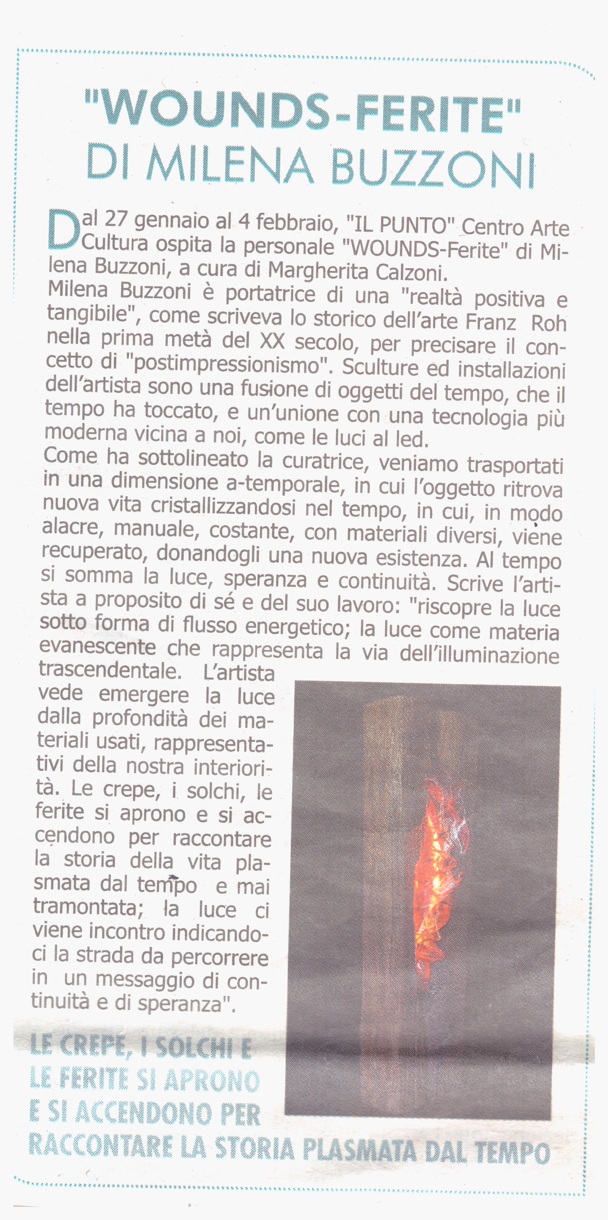 Scansione Articolo Corriere