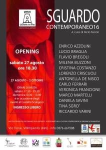 Castello Scaligero di Villimpenta (Mn) 27 Agosto 2016 - 02 Ottobre 2016